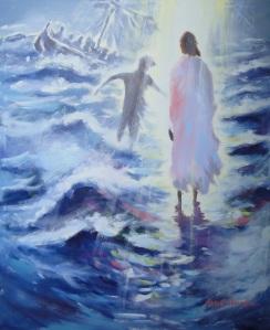 JesusPeterWalkingOnWater-Mural